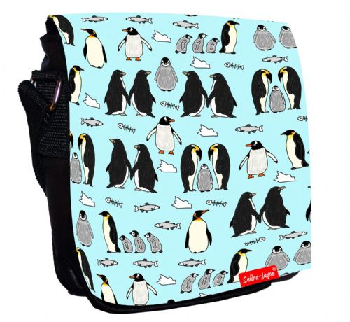 Selina-Jayne Penguins Limited Edition Designer Small Cross Body Shoulder Bag